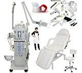 17 in 1 Elite Series Multifunction Diamond Microdermabrasion Facial Machine & Adjustable Hydraulic Bed Table Chair Salon Spa Beauty Equipment