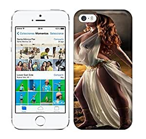 Best Power(Tm) HD Colorful Painted Watercolor Free And Brave Goddes Stand Of Hopefull Future Hard For Iphone 5C Phone Case Cover