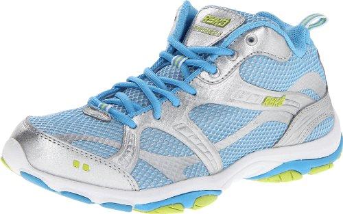Ryka Women's Enhance 2 Cross-Training Shoe Grey/Light Blue/Light Green