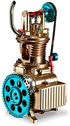 Hwhwxs 1-Cylinder Engine Model Engine Collecting kit, All-Metal Motor for Adults Gifts