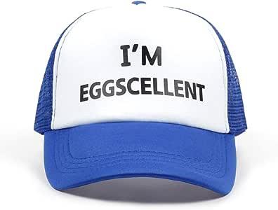 Yosrab Im Eggscellent Cartas Imprimir Gorra de béisbol Sombrero ...