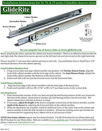 GlideRite Hardware 3514-2BB-SN-100 Ball Bearing 3.5 inch steel Door Hinges 0.25 inch Radius Corners Satin Nickel Finish 100 Pack by GlideRite Hardware (Image #4)