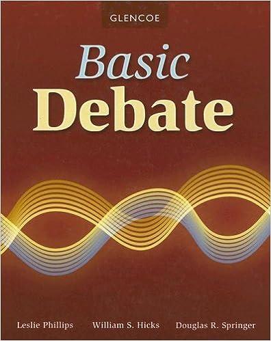 Amazon.com: Basic Debate, Student Edition (DEBATE SERIES ...