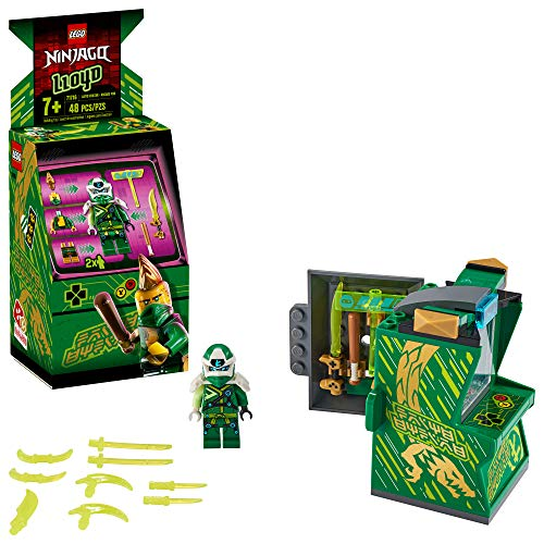 LEGO NINJAGO Lloyd Avatar - Arcade Pod 71716 Mini Arcade Machine Building Kit, New 2020 (48 Pieces)