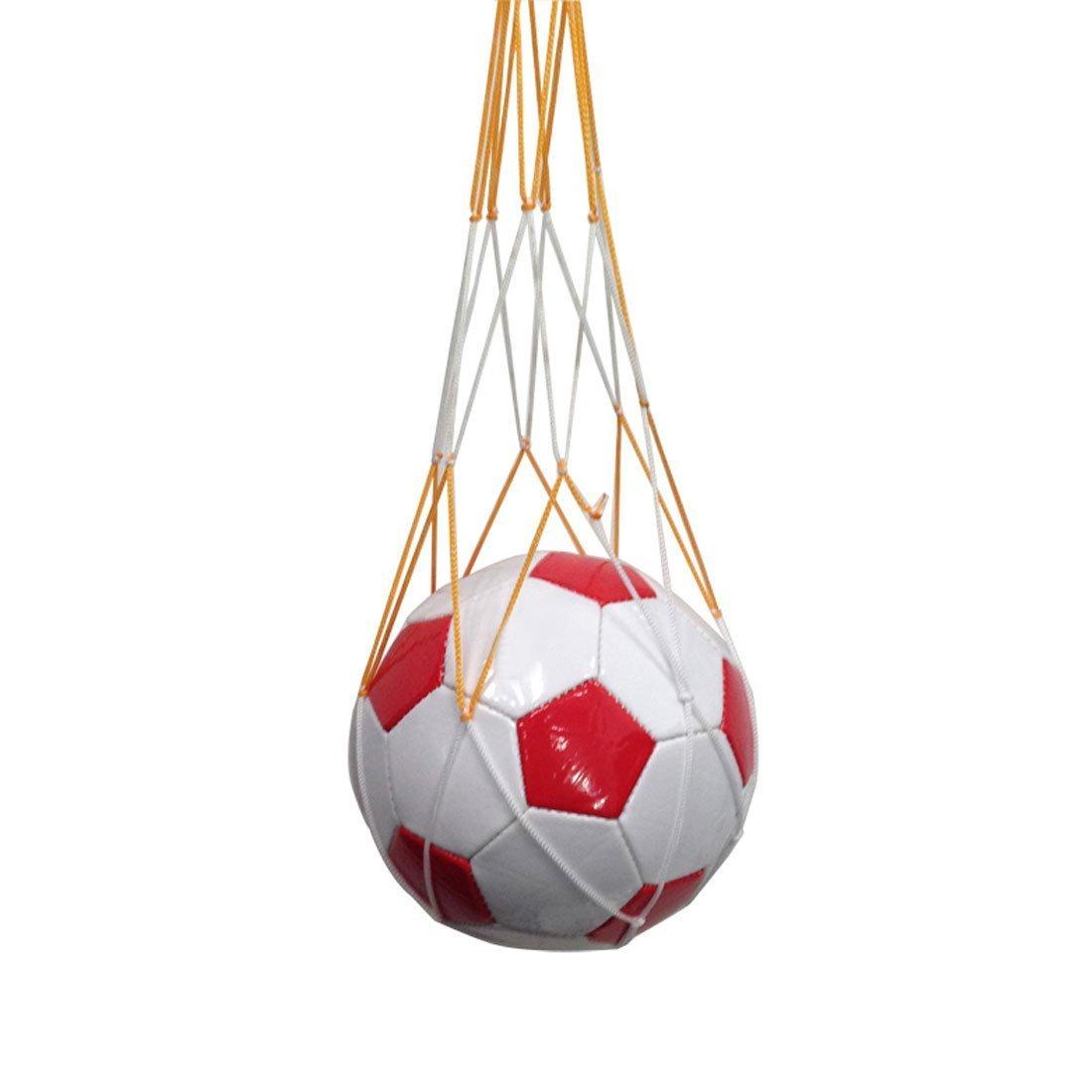 Nylon Mesh Bola neta voleibol baloncesto fútbol llevar bolsa de ...