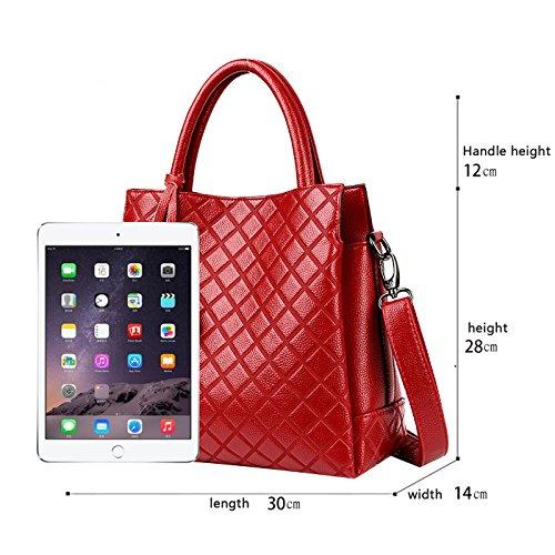 Donna Tisdaini Nuova Borsa Moda Progettista A Rosso Tracolla Mano Messenger Borse q4S5cL3ARj