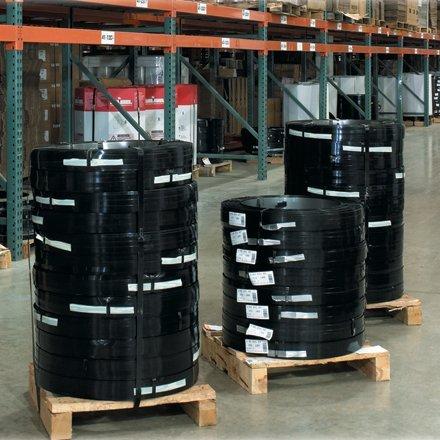 Aviditi-SS34023-Regular-Duty-Steel-Strapping-34-x-023-Gauge-x-1710-100-lb-Coil
