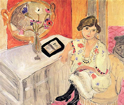 Henri Matisse Reading Woman, Daydreaming 1921 Private Collection 30
