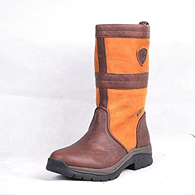 d7e860603ae Ariat Bryn GTX Mid Calf Boots Ladies Leather Riding Yard Womens UK4 ...