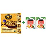 Nature's Path, Organic, Flax Plus, Vanilla Almond Granola Cereal, 11.5 oz (325 g)( 5 PACK )+ ( 2 PACK ) Stoneridge Orchards, Sliced Peaches, Dried Tree-Ripened Summer Peaches, 4 oz (113 g)