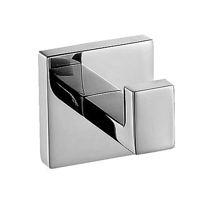 amazon com flybath coat hook sus 304 stainless steel mirror rh amazon com bathroom robe hooks axor bathroom robe hooks uk