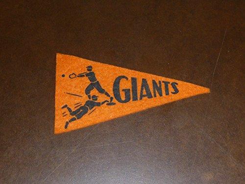 1936 BF3 NEW YORK GIANTS BASEBALL PENNANT BEAUTIFUL