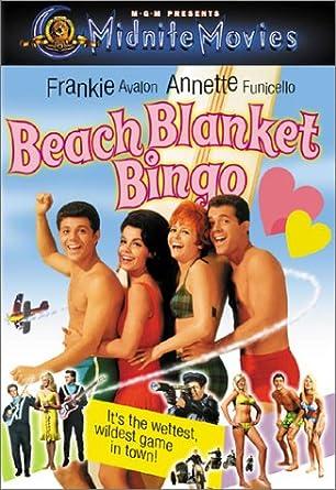 184f9237bfeb Amazon.com  Beach Blanket Bingo  Frankie Avalon