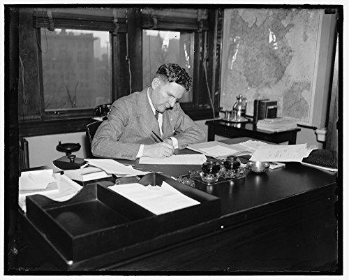1936 Photo Warren Lee Pierson, Pres. of Export-Import Bank by Historic Photos