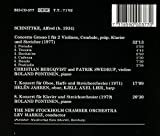 Schnittke: Concerto Grosso No. 1; Concerto for Oboe and Harp; Concerto for Piano and Strings