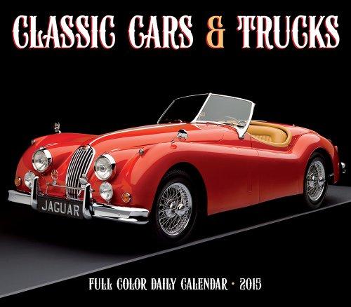 Classic Cars & Trucks 2015 Box Calendar (Antique Car 2015 Calendar)