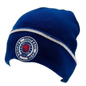 Official GLASGOW RANGERS royal blue bronx hat  Amazon.co.uk  Sports ... e495fb4e918