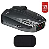 The Cobra Electronics ESD7570 Radar/Laser Detector offers reliable and proven performance. The unit features 360-degree detection of all radar frequencies and laser signals currently used in the United States and Canada. With Spectre Undetectable tec...