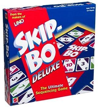 Skip Bo Deluxe Card Game Amazonde Spielzeug