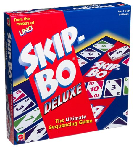 Skip-Bo Deluxe Card Game by Mattel (Image #3)