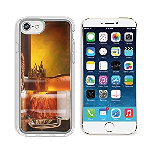 MSD Samsung Note 8 Clear case Soft TPU Rubber Silicone Bumper Snap Cases IMAGE of beer foam alcohol drink glass cold pint yellow refreshment pub liquid brown light mug gold