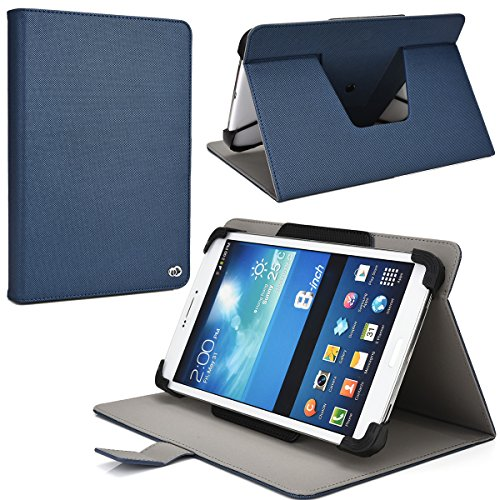 NuVur Durable Universal 8 inch Rotating Tablet Case Fits ...