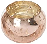 Cheap Insideretail Wedding Tea Light Holders: Mercury Glass Round Votives-Copper-6cm x 6cm, Set of 48, 6cm x 6cm, Copper