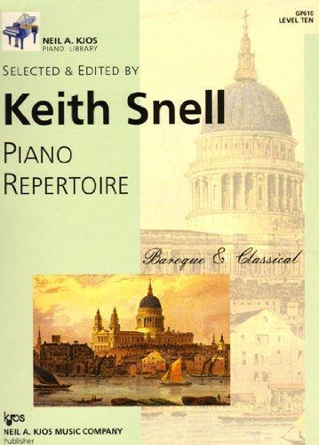 Read Online GP610 - Piano Repertoire: Baroque & Classical Level Ten ebook