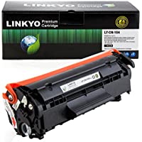LINKYO Compatible Toner Cartridge Replacement for Canon 104 (Black)