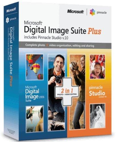 Microsoft Digital Image Suite 2006 Plus Pinnacle Studio 10.0 [Old Version] by Microsoft