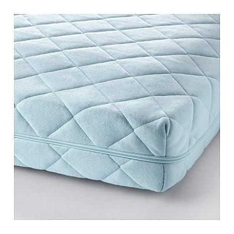 IKEA VYSSA VINKA - Colchón para cuna, azul - 60 x 120 cm: Amazon.es: Hogar