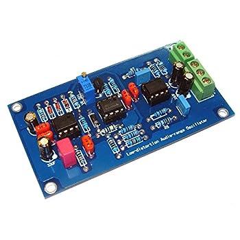 Qianson Low Distortion Coefficient Audio-range Oscillator 1KHz Sine Wave Signal Generator