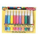 Scribbles 3D Paint Pens (Pack of 10)