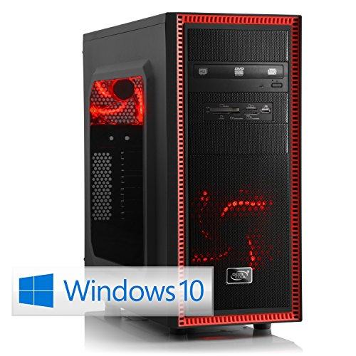 CSL Gaming PC Speed X4816 inkl. Windows 10 - Intel Core i7-4790K 4x 4000MHz, 16GB RAM, 120GB SSD, 1000GB HDD, GeForce GTX 960, DVD, USB 3.0