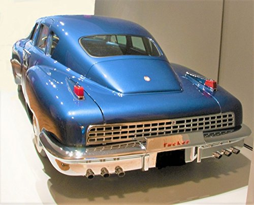 1 Vintage Concept Car Inspiredby 1940s Ford Lincoln Mercury Pre Built Metal Diecast Model T A GT Art Sport Classic Carousel Blue Antique 12 1948 F150 1930 gt40 24 1950 25 1966 18 1963