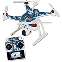 Skin For Blade Chroma Quadcopter – Saltwater Compass | MightySkins Protective, Durable, and Unique Vinyl Decal wrap cover | Easy To Apply, Remove, and Change Styles | Made in the USA