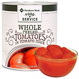 Member\'s Mark Whole Peeled Tomatoes (102 oz.) (pack of 2)