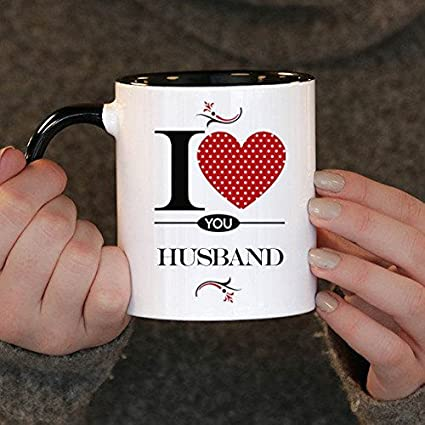 I Love You Husband Gift Birthday Mug