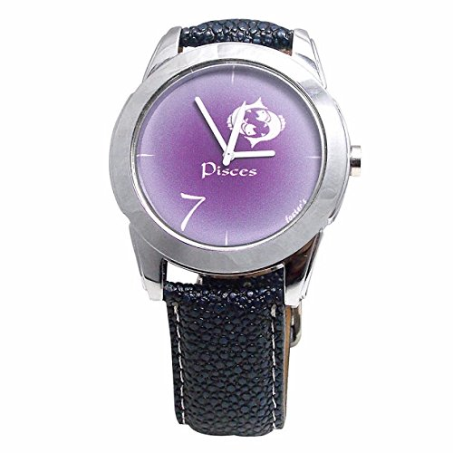 Buy Foster's Pisces Lucky Number 7 Purple Analogue Multi-Color Watch