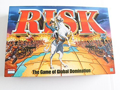 Risk 1998 Board Game With Army shaped Pieces by Parker Brothers from Parker Brothers