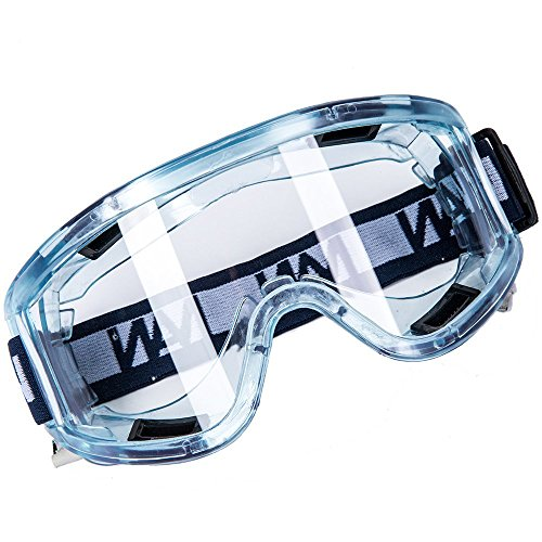 [Clear Sport Style Anti-Fog Safety Goggle Splash and Impact Resistant Goggle Sand Eye Protector] (Halloween Goggles)
