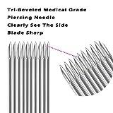 Body Piercing Needles, ATOMUS 14G 16G Stainless