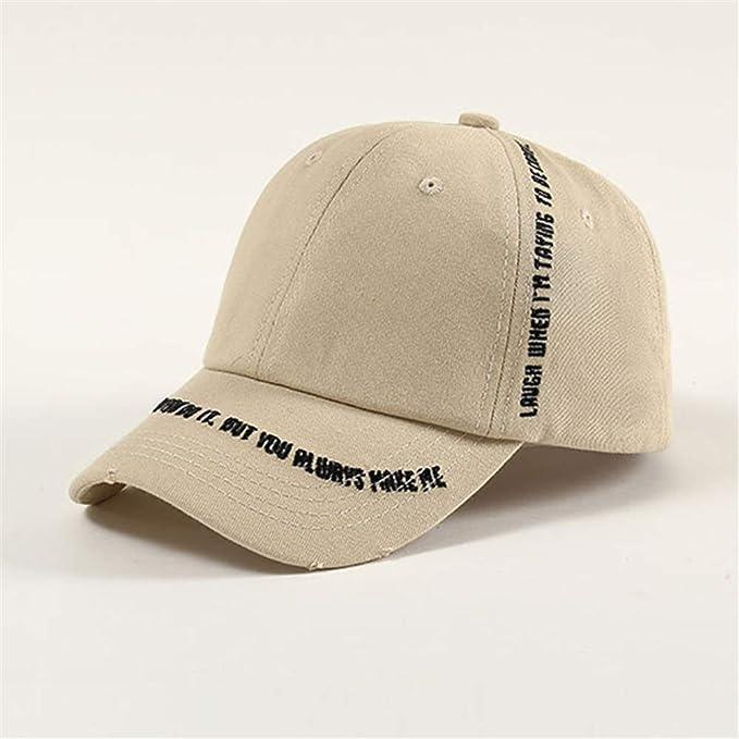 sdssup Gorras de béisbol Bordadas de Letras de Sombrero de Gorras ...