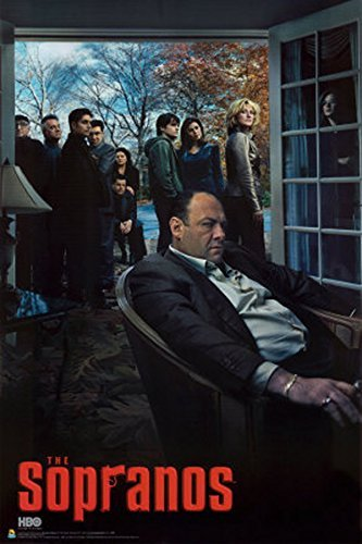 Price comparison product image Sopranos Season 6 Mobster Gangster Crime Drama TV Television Show Poster Print