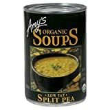 Amy's Organic low Fat Soup Split Pea -- 14.1 fl oz (Pack of 48)