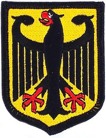 Patch ecusson brode imprime voyage souvenir drapeau allemagne allemand