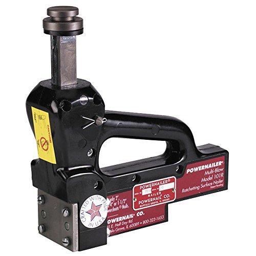 - POWERNAIL 16 Gauge Manual Hardwood Floor Ratcheting Surface Nailer