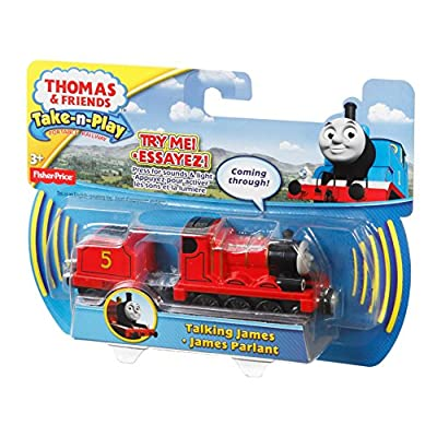 Fisher-Price Thomas & Friends Take-n-Play, Talking James: Toys & Games