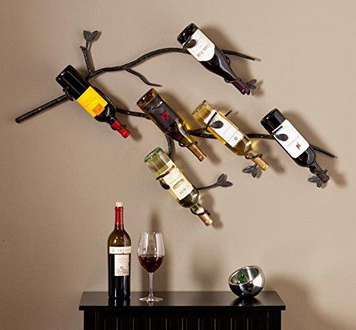 6 Bottle Wrought Iron - 6