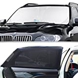 #7: Windshield Sun Shade & Baby Sun Shade (2-Piece Set) by KoolZone — Universal Window Shade — Reduces Interior Heat & Protects Children — Decreases Sun Damage — Easy to Install